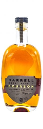 Barrell Craft Spirits Bourbon Whiskey 15 Year, Limited Edition, 106.52 Proof 750ml
