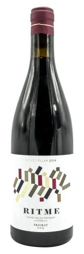 2016 Ritme Cellers Tinto Ritme 750ml