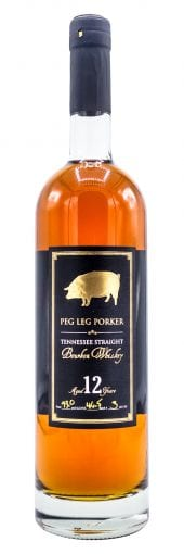 Peg Leg Porker Bourbon Whiskey 12 Year Old 750ml