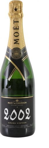 2002 Moet et Chandon Vintage Champagne 750ml