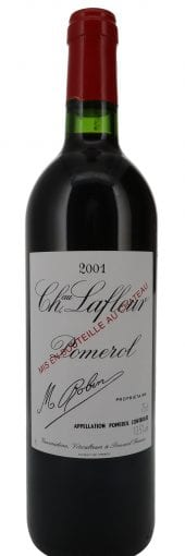 2001 Chateau Lafleur 750ml
