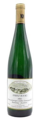 2002 F. Haag Riesling Auslese Brauneberger Juffer Sonnenuhr, Gold Capsule 750ml