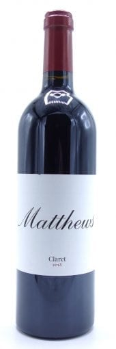 2018 Matthews Claret Columbia Valley 750ml