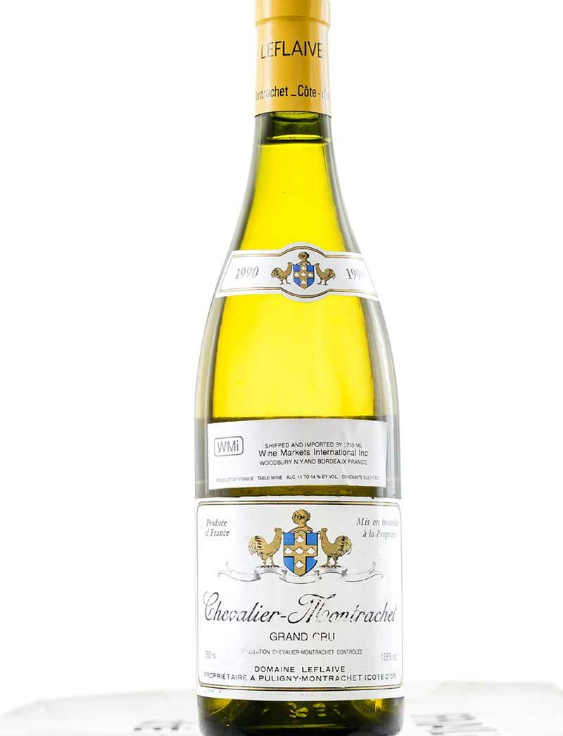 Lot 1090: 12 bottles 1990 Domaine Leflaive Chevalier Montrachet in OCB