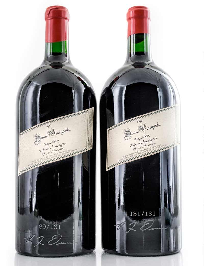Lot 148, 149: 1 Imperial each 1996 and 1997 Dunn Vineyards Cabernet Sauvignon Howell Mountain