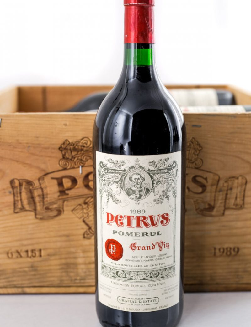 Lot 228: 6 magnums 1989 Chateau Petrus in OWC