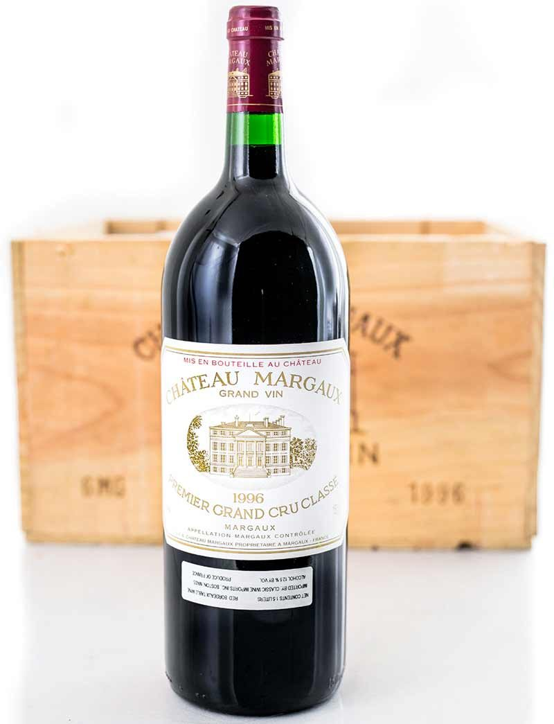 Lot 379: 6 magnums 1996 Chateau Margaux in OWC